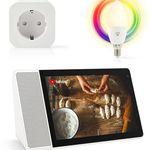 Bundle: Lenovo Smart Display inkl. WLAN Steckdose & LED-Lampe für 149€ (statt 237€)