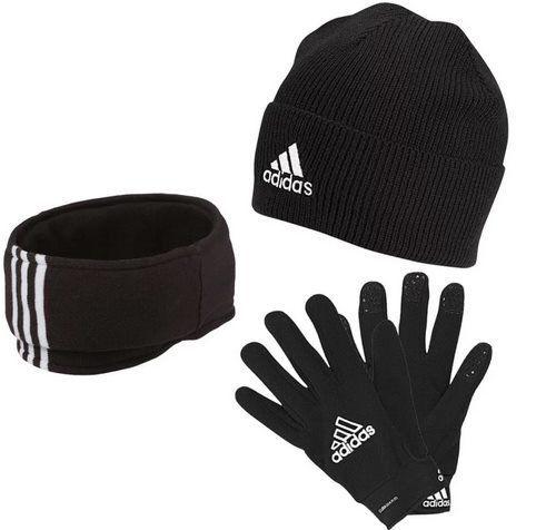 adidas Winterset aus 3 Teilen (Mütze, Halswärmer & Handschuhe) für 33,95€ (statt 45€)