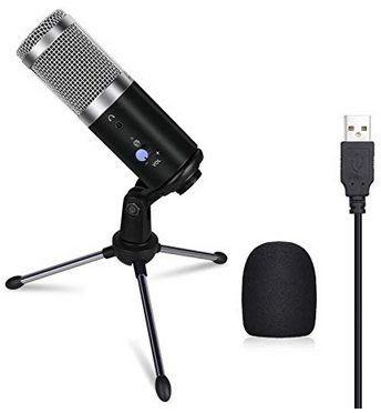 Anpo Kondensatormikrofon mit Ständer für 11,49€ (statt 23€)