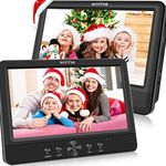 2er Pack: WONNIE tragbarer DVD-Player mit Kopfstützenhalterung & vielen Extras für 107,99€ (statt 180€)