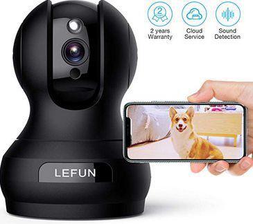 1080p WLAN Innenkamera mit Bewegungs  & Spracherkennung für 23,99€ (statt 40€)