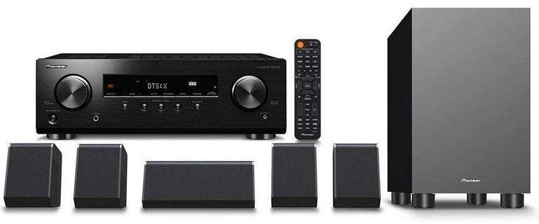Pioneer HTP 076 5.1 Heimkino System (Bluetooth, Dolby Atmos) für 313,85€ (statt 396€)