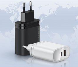 KUULAA 36W USB Ladegerät mit USB & USB C Port für 3,59€