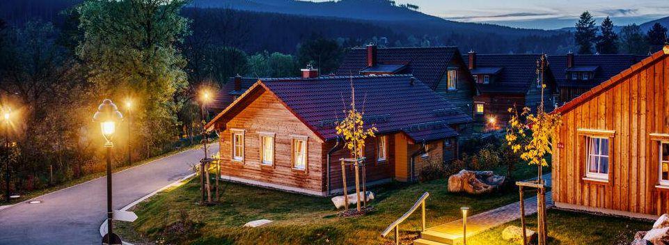 2 ÜN im Harz in 75m² Premium Lodge inkl. Frühstück, 3 Gänge Menü & eigener Sauna ab 173€ p.P.