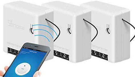 3erPack: Sonoff Mini WIFI DIY Smart Switch für 17,04€   aus DE