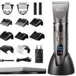 Hatteker 3in1 Haarschneidemaschine mit LCD für 19,99€ (statt 40€)