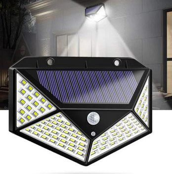 LED Solarleuchte für Außen mit 100 LEDs für 5,68€