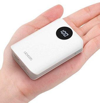 Licheers 10.000mAh Mini Powerbank mit LCD für 13,29€   Prime