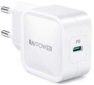 RAVPower RP PC120 30W QC3.0 USB C Ladegerät für 16,99€ (statt 22€)