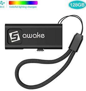 SAWAKE 128GB USB 3.0 Stick inkl. Band für 13,15€   Prime