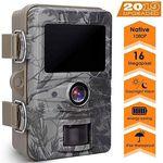 AGM 1080p 16MP Wildkamera mit 20m Nachtsicht für 39,99€ (statt 70€)