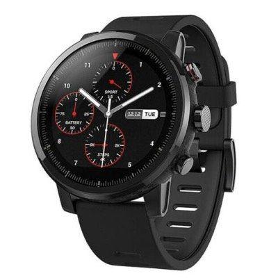 Xiaomi Amazfit Pace2 Stratos Smartwatch mit Fitnesstracker für 112,49€   Versand aus DE
