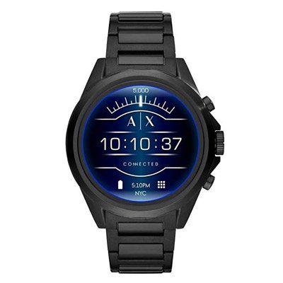 Armani Exchange Connected AXT2002 Smartwatch (1,4 Zoll, WearOS) für 132,73€ (statt 250€)