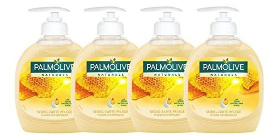 Vorbei! 4er Pack Palmolive Flüssigseife Milch und Honig ab 1,39€ (statt 11€)