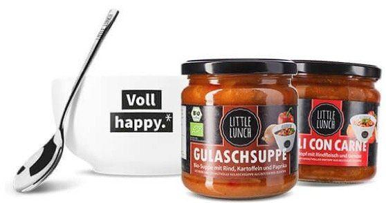 🔥 Little Lunch: heute 25% Rabatt auf viele Geschenkpakete   z.B. Geschenkbox Vegan nur 14,18€