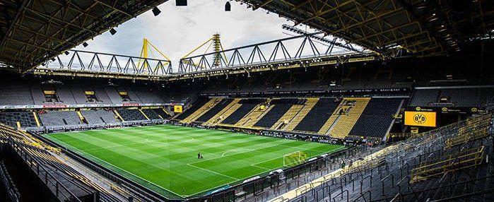 Morgen im Westfalen Stadion beim Spiel gegen Inter Mailand gilt: Zwei für Eins   auch z.B. Bier, Wurst...