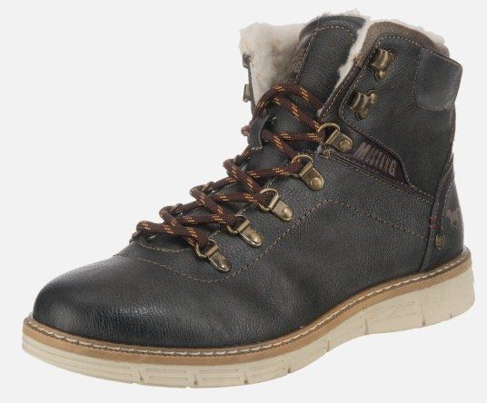 Mustang Winter Boots mit Teddy Futter für 50,99€ (statt 76€)