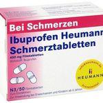 Vorbei! 100er Pack IBUPROFEN Heumann Schmerztabletten 400mg für 3,97€ inkl. Versand (statt 7€)
