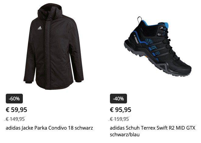 Winter Sale bei Geomix (adidas, Nike, ...) mit bis zu 60% Rabatt + VSK frei ab 40€