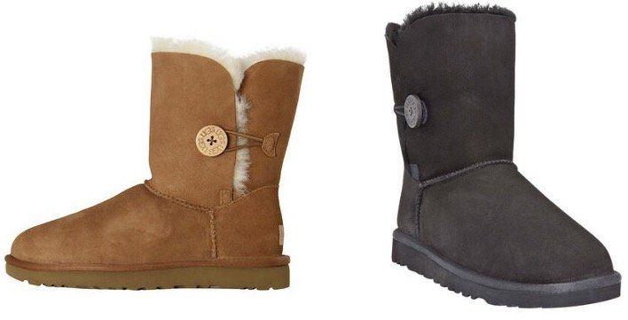 UGG Bailey Button II Damen Stiefel in Braun oder Schwarz für je 96,91€ (statt 132€)