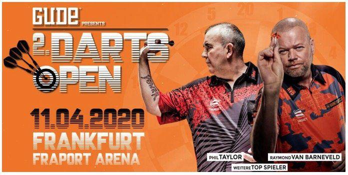 Darts Open Frankfurt Tickets + ÜN/F im Hotel ab 65€ p.P.   z.B. Phil Taylor und van Barneveld