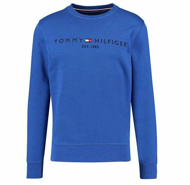 Tommy Hilfiger Herren Sweatshirt mit großem Logo Print für 59,90€(statt 90€)