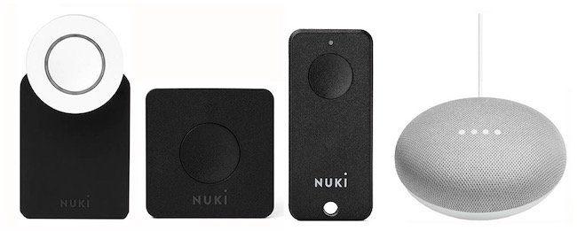 Nuki Smart Lock 2.0 Türschloss + Türöffner + Google Home mini für 294€ (statt 353€)