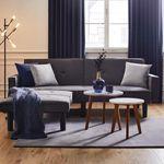 Sofa mit Bettfunktion inkl. Ottomane für 254,30€ (statt 399€)