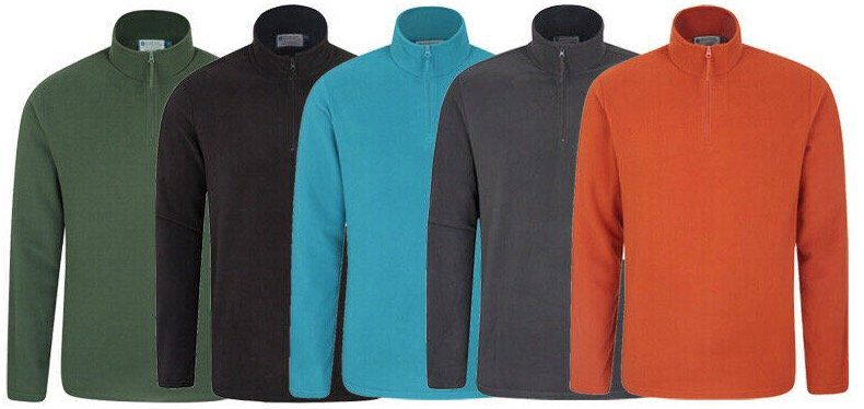 Mountain Warehouse Herren Camber Fleece Pullover für je 13,95€ (statt 20€)