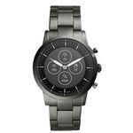 Fossil FTW7009 Hybrid Smartwatch (neues Modell mit massivem Gliederarmband + großem Display) für 186,15€