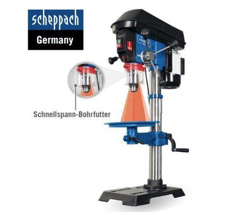 Scheppach DP18 Profi Säulenbohrmaschine für 179,20€ (statt 280€)