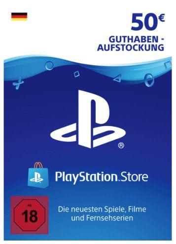 50€ PlayStation Network Guthaben für 38,89€   nur mit PayDirekt
