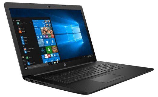 HP 17 Notebook (Ryzen 3, 8GB/256GB SSD Win 10) für 421,11€ (statt 472€)