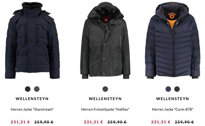 single day wellensteyn jacke rabattcode