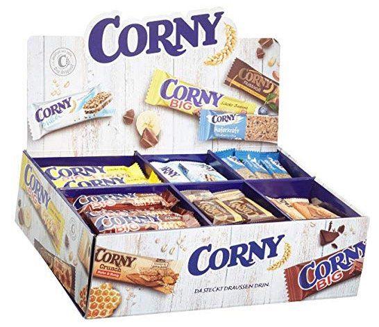Corny Bestseller Box mit 69 Riegeln ab 26,34€
