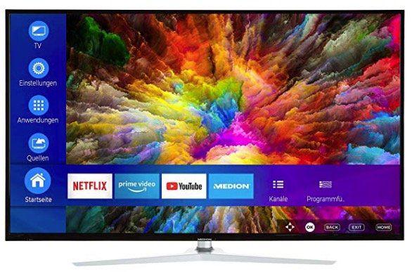 Medion X15049   50 Zoll UHD Fernseher mit Dolby Vision für 299,95€ (statt 330€)