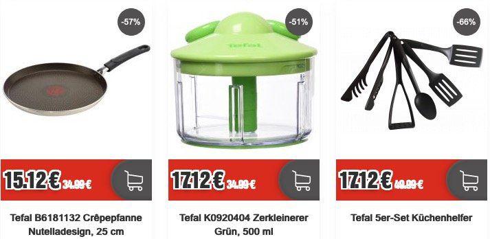 Top12 Singles Day: 12% Rabatt auf das ganze Sortiment   z.B. Tefal Zerkleinerer 500ml für 15€ (statt 25€)