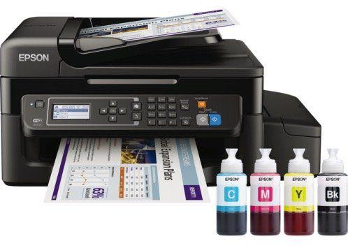Epson EcoTank ET 4500 Tintenstrahl Multifunktionsdrucker inkl. Unlimited Printing für 189€(statt 261€)