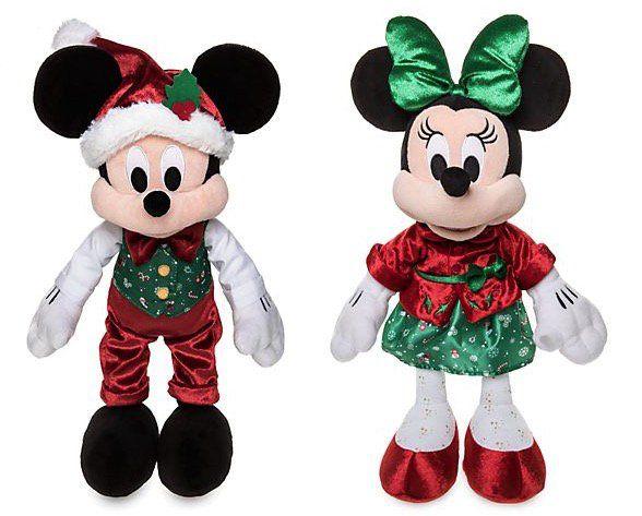 Micky und Minnie   Kuschelpuppen Bundle für nur 19,10€