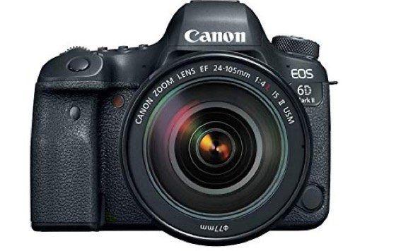 Canon EOS 6D Mark II Kit 24 105mm Spiegelreflexkamera für 1.411,45€ (statt 1.749€)