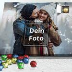 Adventskalender mit eigenem Foto gefüllt mit Edelvollmilch-Schokolade für 14,50€