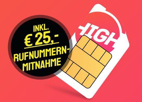Sparhandy Telekom Allnet Flat mit 3GB LTE für 10€ mtl.
