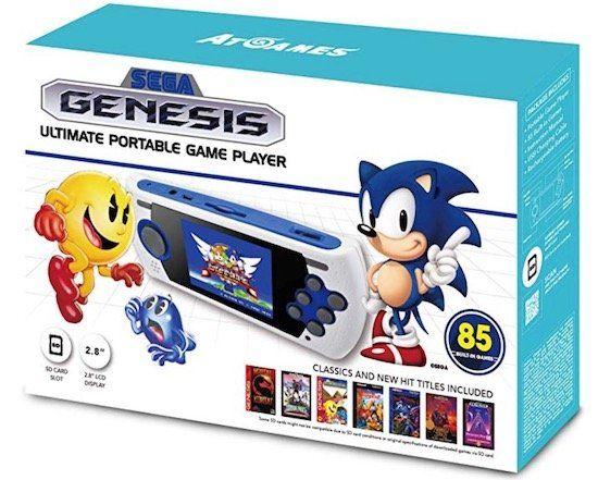 Sega Genesis Ultimate Spielekonsole mit 85 Spielen für 34,07€ (statt 65€)
