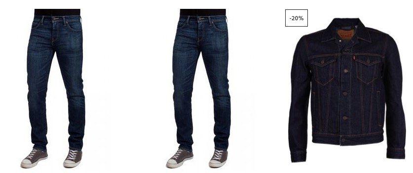 Jeans Direct: 30% Rabatt auf alles von Levis (ab 50€)