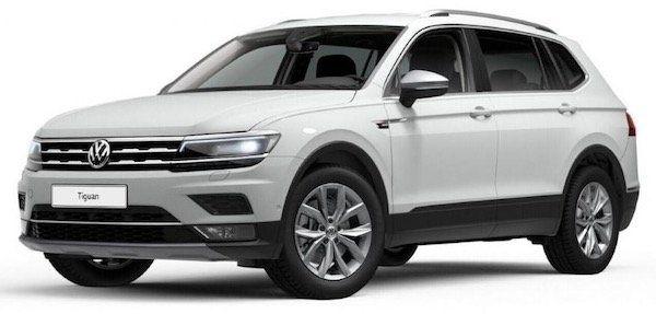 Gewerbe: VW Tiguan Allspace Highline mit 200PS, DSG & 4Motion im Leasing für 159€ netto   LF: 0,31