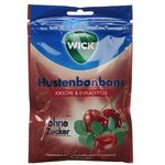 10er Pack WICK Kirsche Eukalyptus Hustenbonbons ohne Zucker ab 10,29€