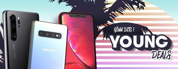Junge Leute Deals bei Handyflash   z.B. iPhone 11 für 39,95€ + Telekom MagentaMobil 12GB LTE für 44,95€ mtl.