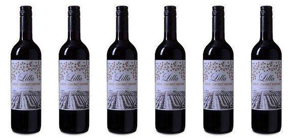 6 Flaschen Merlot Cabernet Sauvignon Wein für 19,98€   nur 3,33€ pro Flasche inkl. Lieferung