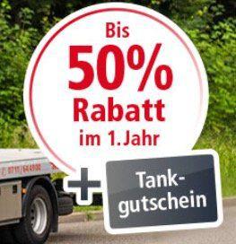 50% Rabatt auf die ACE Auto Club Europa Mitgliedschaft (Pannenhilfe) + 10€ Tankgutschein