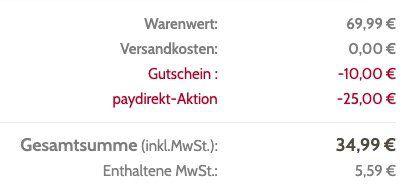 WMF Eismaschine mit 300ml für 34,99€ (statt 47€)   PayDirekt